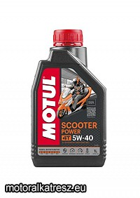Motul Scooter Power 4T 5W40 1l motorolaj MA