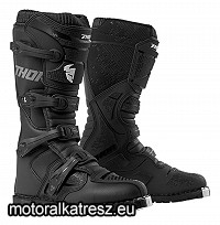 Thor BLITZ XP fekete cross/enduro/ATV csizma 44,5-es (10)