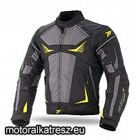 Seventy Degrees SD-JR55 Racing cordura dzseki/kabát fekete-neonsárga XL