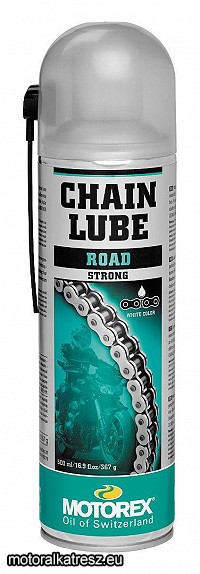 Motorex Chain Lube Road Strong utcai lánckenő spray 500ml (PTFE)