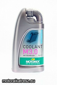 Motorex Coolant M3.0 -38°C hűtőfolyadék 1l (Ready to use)
