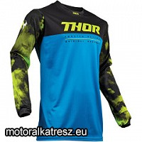 Thor Pulse Air Acid kék-fekete-lime mez XL