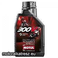 Motul 300V2 Factory Line 10W50 1l motorolaj (Road/Off-Road, Organic Base, 100% synthetic)