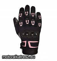 Plus Racing Cross PRO fekete-pink off-road, enduro, supermoto kesztyű S