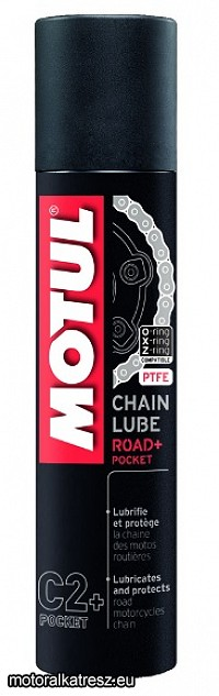 Motul C2+ Chain Lube RoadPlus !!! MINI !!! láncspray 100ml PROMO-EXTRA AKCIÓ