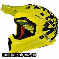MT Falcon Karson F2 Matt Fluor Yellow cross sisak XL 11194565227