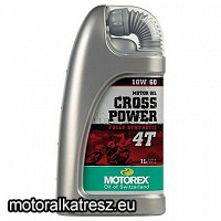 Motorex Cross Power 4T 10W60 MA2 1l motorolaj